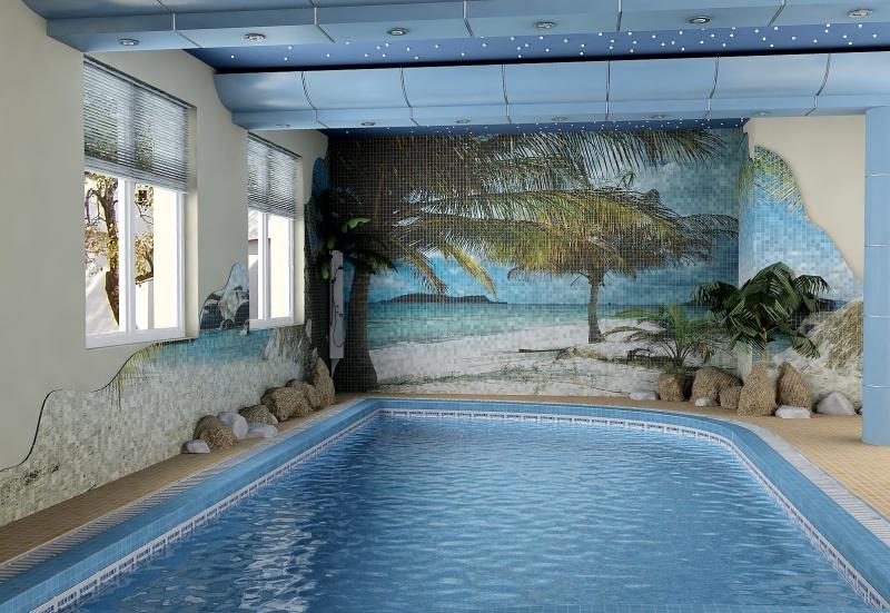 Влагостойкие фотообои для бассейна нижний новгород