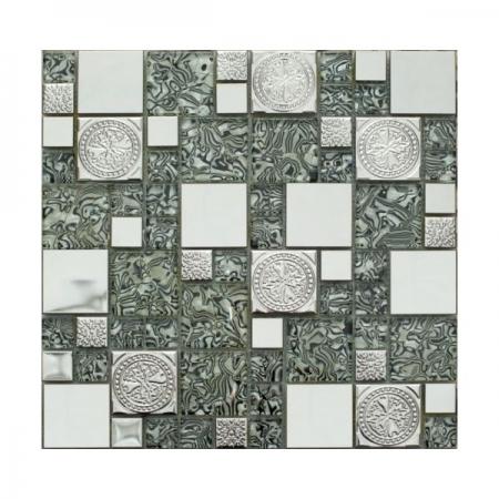 Металлическая мозаика 620