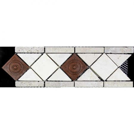 Бордюр из мозаики DS200-2