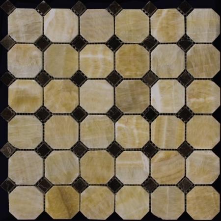 Каменная мозаика M073+M076-BP