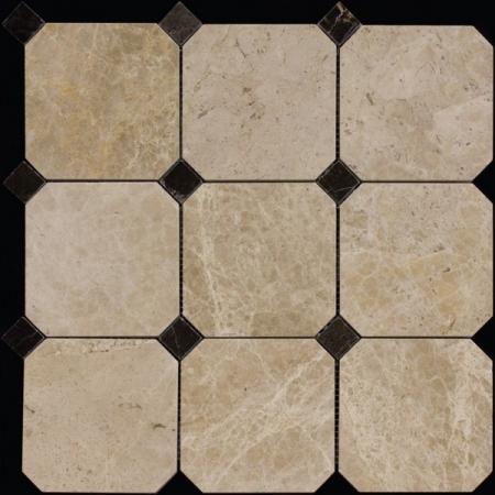 Каменная мозаика M036+M076-BP
