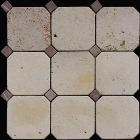 Каменная мозаика M090+M074-BT