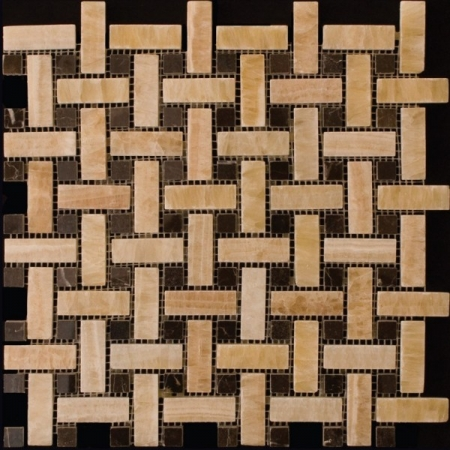 Каменная мозаика M073B-CP