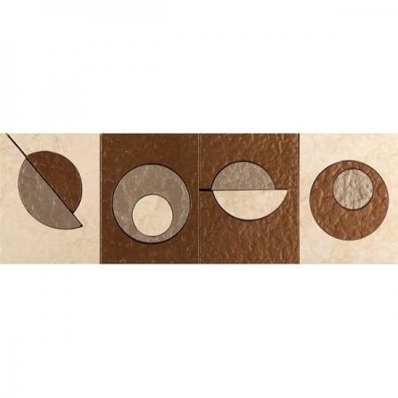 Бордюр из мрамора Skalini Modern Circle 1