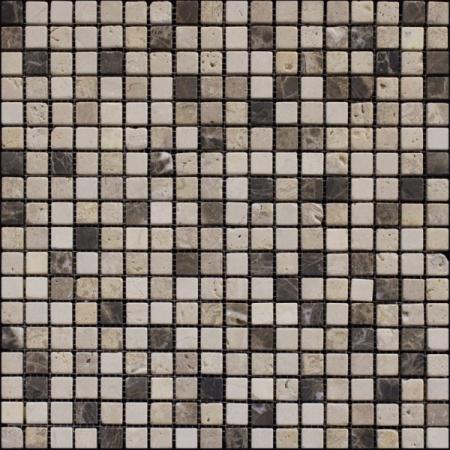 Каменная мозаика Modena Emperador Mix
