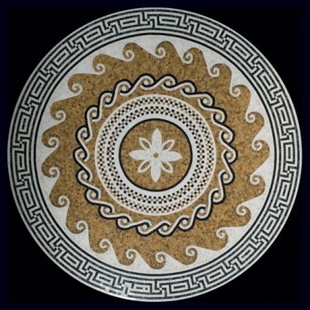 Розон из мозаики PH-012