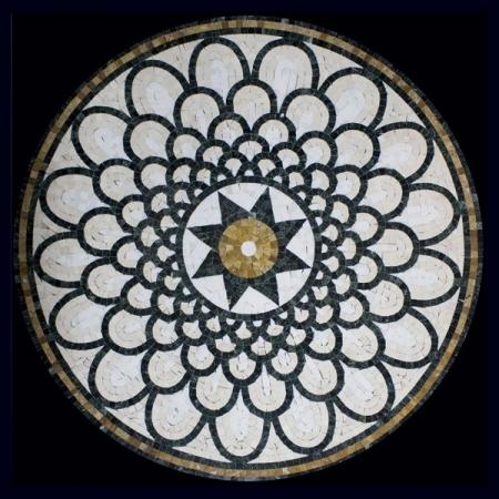 Розон из мозаики PH-013