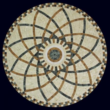 Розон из мозаики PH-015