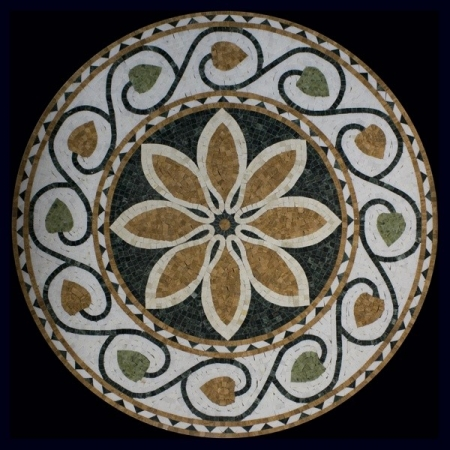 Розон из мозаики PH-017
