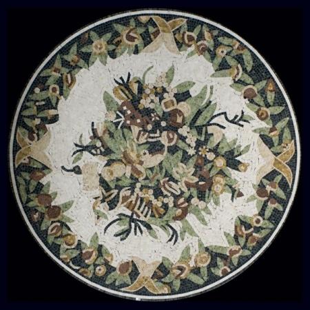 Розон из мозаики Mosaic 3