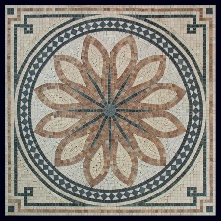 Ковер из мозаики PH-07