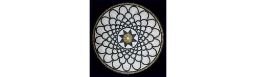 Ковры и розоны из мозаики