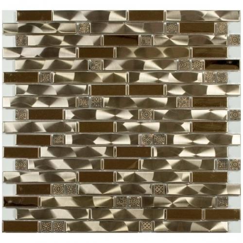 Металлическая мозаика 609