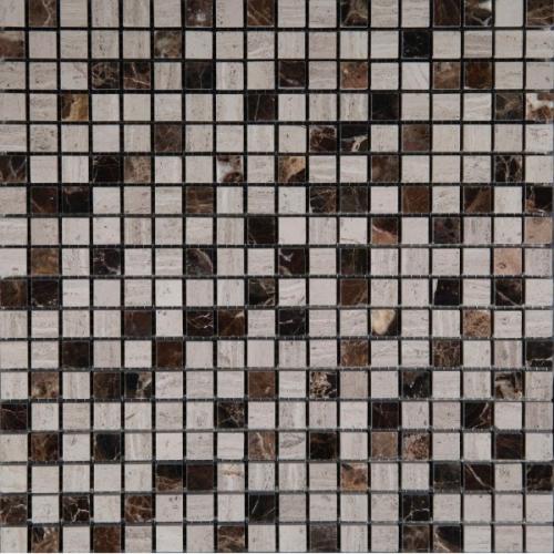 Каменная мозаика M022-M031G-15P