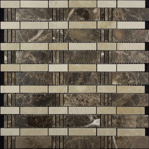 Каменная мозаика KB10-C04
