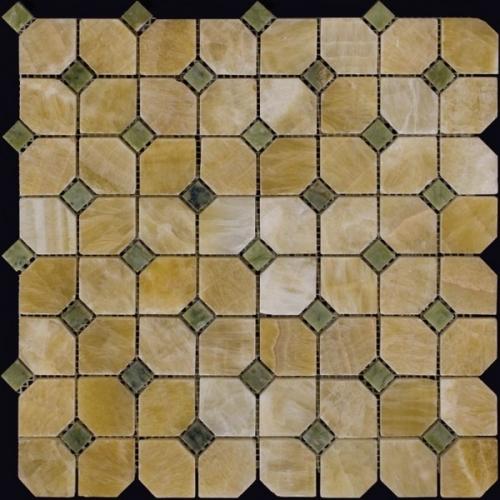 Каменная мозаика M073+M068-DP9