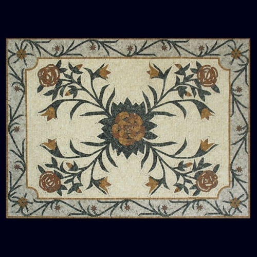 Ковер из мозаики PH-035-2P