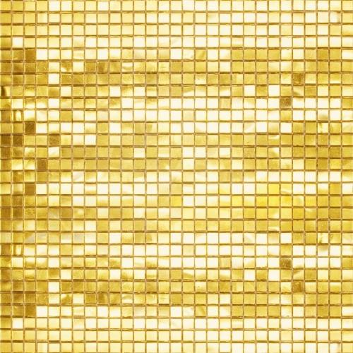 Золотая мозаика G01 10x10