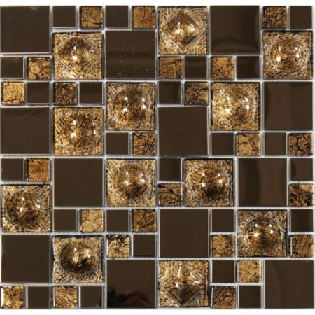 Металлическая мозаика 624