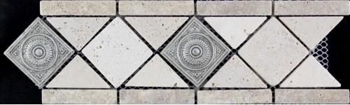 Бордюры из мозаики